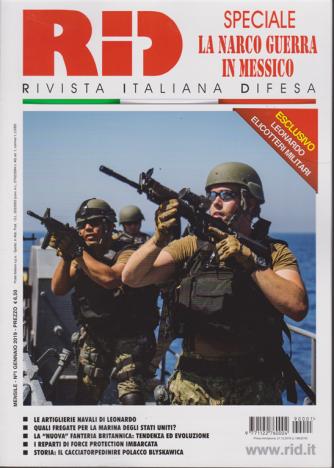 Rid - Speciale La narco guerra in Messico - n. 1 - mensile - gennaio 2019 -