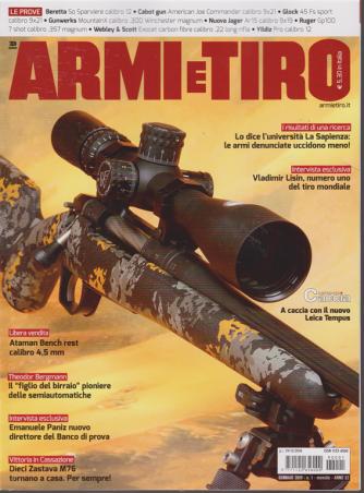 Armi E Tiro - n. 1 - gennaio 2019 - mensile