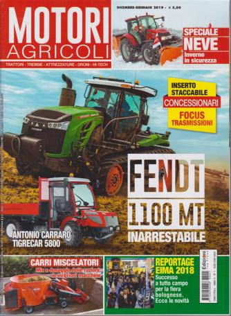 Motori Agricoli - n. 1 - bimestrale - dicembre - gennaio 2019 -