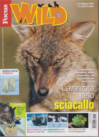 Focus Wild - n. 91 - febbraio 2019 -