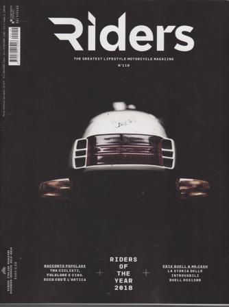 Rider's - n. 119 - dicembre - gennaio 2019 -