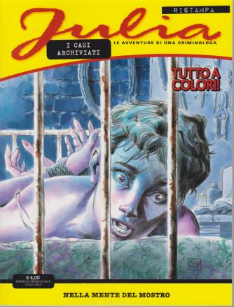 Julia I Casi Archiviati - Nella Mente Del Mostro - n. 3 - 16 gennaio 2019 - mensile - tutto a colori!