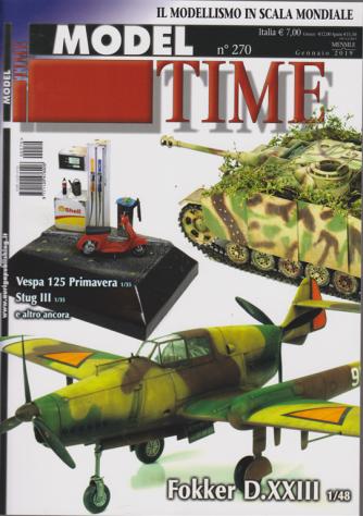 Model Time - n. 270 - mensile - gennaio 2019