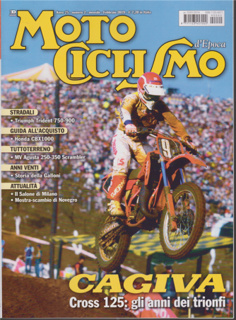 Motociclismo d'epoca - n. 2 - mensile - febbraio 2019 -