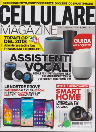 Cellulare Magazine - n. 1 - dicembre - gennaio 2019 - mensile