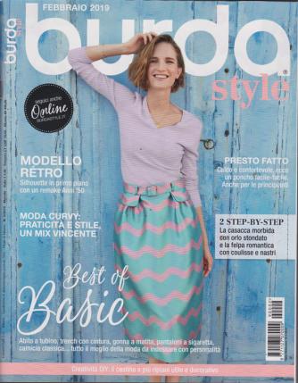 Burda  style - n. 2 - mensile - febbraio 2019 -