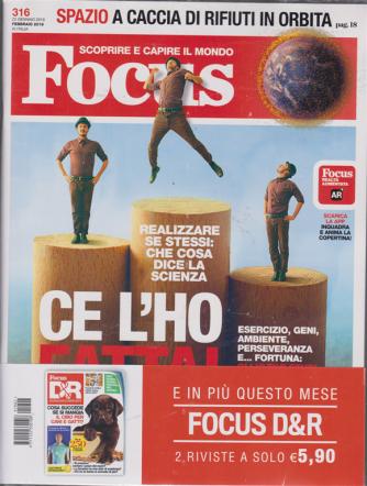 Focus + Focus Domande & R. - n. 316 - 22 gennaio 2019 - mensile - 2 riviste