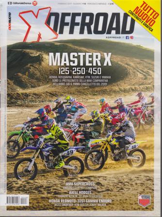 X Off Road - n. 118 - febbraio 2019 - mensile