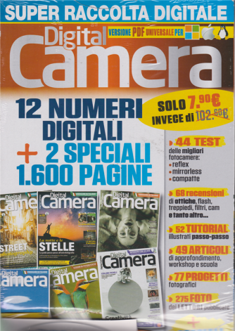 Digital Camera - super raccolta digitale - versione pdf - n. 4 - annuale - dicembre - gennaio 2019 -