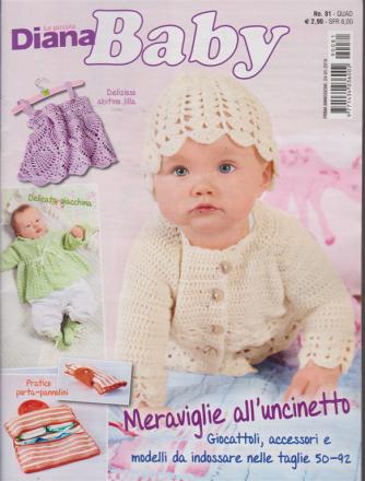 La piccola Diana baby - n. 81 - quadrimestrale - 24/1/2019 -