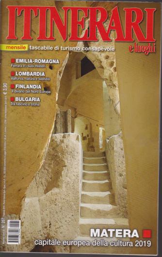 Itinerari E Luoghi - n. 267 - mensile - febbraio 2019 -