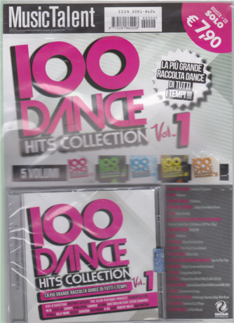 Music Talent Var.02 - Cd 100 Dance Hits Collection - vol. 1 - febbraio 2019- bimestrale - rivista + cd