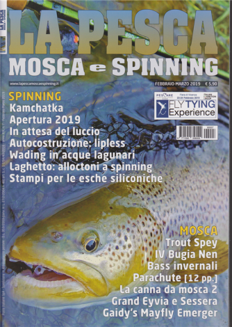 Pesca Mosca E Spinning- n. 7 - febbraio - marzo 2019 -
