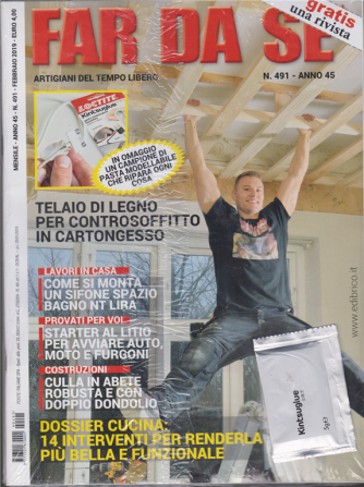 Far Da Se' + Rifare casa - n. 491 - mensile - febbraio 2019 - 2 riviste