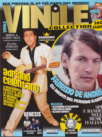Vinile Anthology collection - n. 3 - bimestrale - febbraio - marzo 2019 - 260 pagine