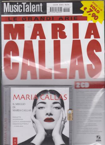 Music Talent Var.32 - Doppio Cd - Il Meglio di Maria Callas - Le grandi arie - rivista + 2 cd -