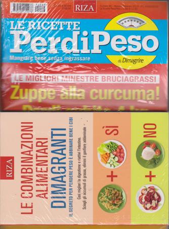 Le ricette Perdipeso di Dimagrire + il libro Le combinazioni alimentari dimagranti - n. 89 - mensile - febbraio 2019 -