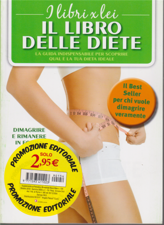 I libri x lei - Il libro delle diete - n. 154 - bimestrale - ottobre 2019