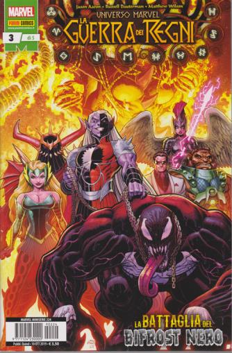 Marvel Miniserie - La Guerra Dei Regni - La battaglia del bifrost nero - n. 224 - quindicinale - 10 ottobre 2019