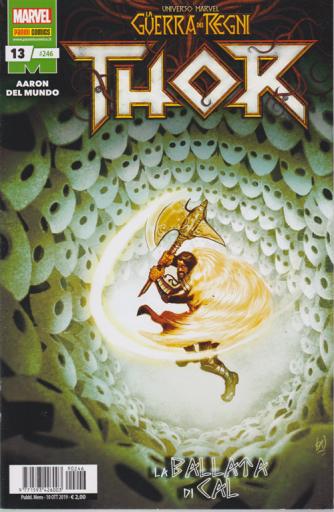 Thor - La guerra dei Regni - La ballata di Cal - n. 246 - mensile - 10 ottobre 2019