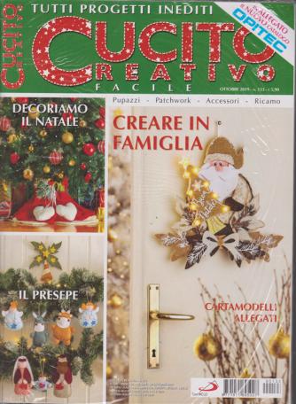 Cucito Creativo facile - + in allegato il nuovo catalogo Opitec - n. 133 - ottobre 2019 - mensile