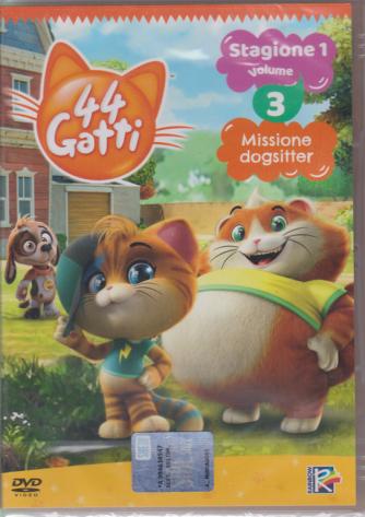 I Dvd Di Sorrisi Collection n. 24 - 44 Gatti stagione 1 volume 3 - Missione dogsitter - 8/10/2019 - settimanale