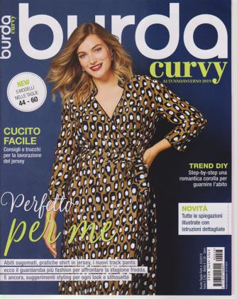Burda Taglie Forti - Curvy - n. 23 - 10/10/2019 - semestrale - autunno - inverno 2019