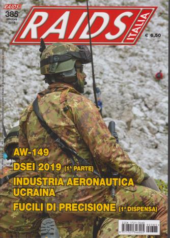 Raids Italia - n. 385 - ottobre 2019 - mensile