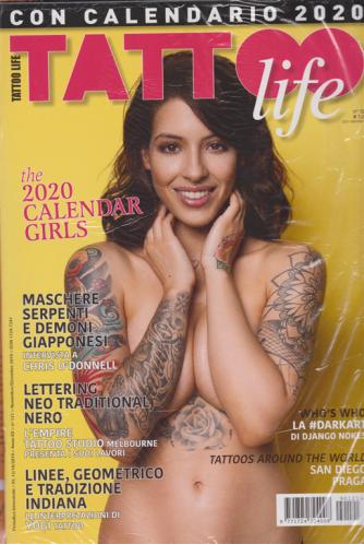Tattoo Life + Calendario girls 2020 - n. 121 - bimestrale - 15/10/2019
