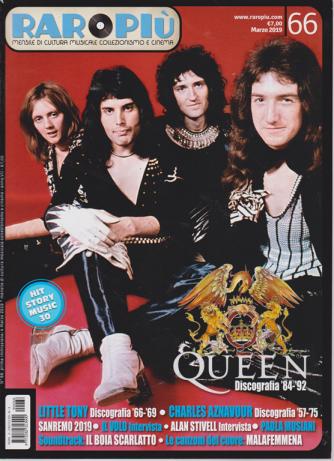 Raropiu' - Queen - n. 66 - mensile - marzo 2019