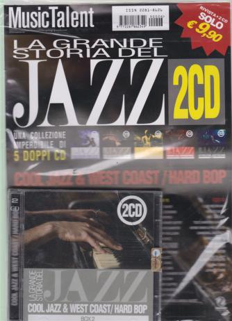 Music Talent Var.34 - La grande storia del jazz 2 cd - Cool jazz & west coast / hard bop rivista + 2 cd