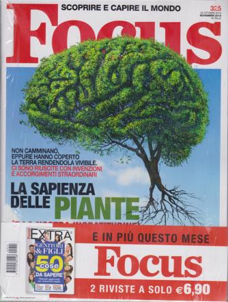 Focus + Focus extra - n. 325 - 22 ottobre 2019 - novembre 2019 - 2 riviste