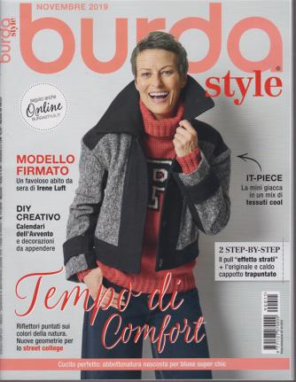 Burda style - n. 11 - mensile - novembre 2019