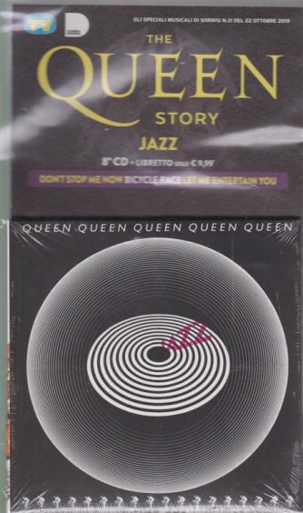 Gli speciali musicali di Sorrisi - n. 31 - 22 ottobre 2019 - The Queen story - jazz - 8° cd + libretto