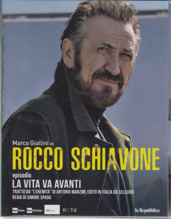 Marco Giallini in Rocco Schiavone episodio La vita va avanti - 1° episodio inedito settimanale - 23 ottobre 2019