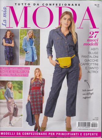 La Mia Moda - n. 22 -trimestrale - 24/10/2019