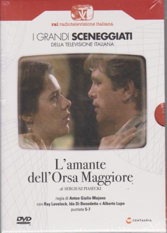 I grandi sceneggiati della televisione italiana - L'amante dell'Orsa Maggiore - di Sergiusz Piasecki - puntate 5-7 - 24/10/2019 - settimanale