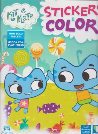 Kit E Kate Stickers e Colori - n. 1 - novembre - dicembre 2019 - bimestrale