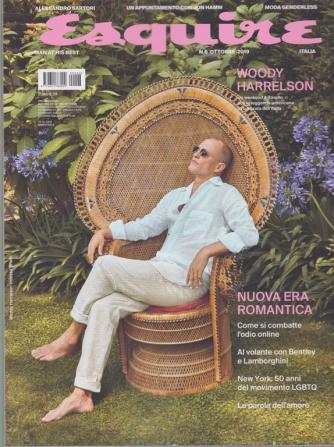 Esquire - n. 6 - ottobre 2019 - bimestrale -