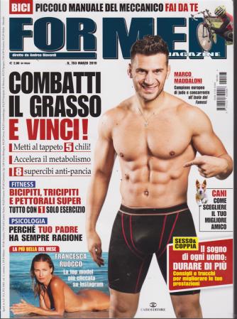 For Men Magazine - n. 193 - marzo 2019 - mensile