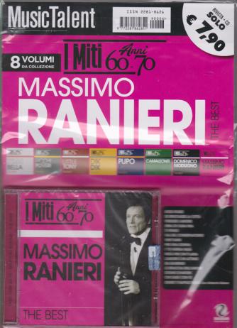 Music Talent  - I miti anni 60-70 - Massimo Ranieri the best - rivista + cd -