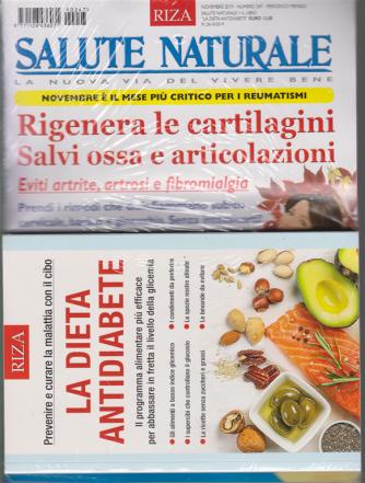Salute Naturale - n. 247 - + il libro La dieta antidiabete - novembre 2019 - mensile - rivista + libro