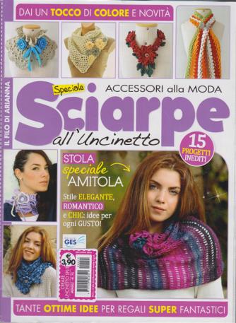 Creare Uncinetto split - Speciale sciarpe all'uncinetto - n. 75 - mensile - Accessori alla moda