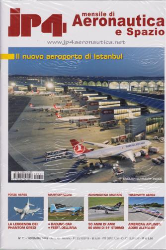 Jp4 - Mensile di Aeronautica e Spazio - n. 11 - novembre 2019 - mensile