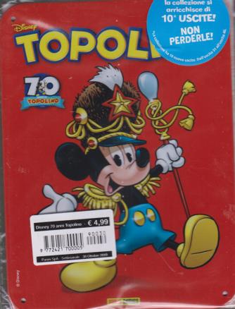 Disney 70 Anni Topolino - settimanale - 30 ottobre 2019 -