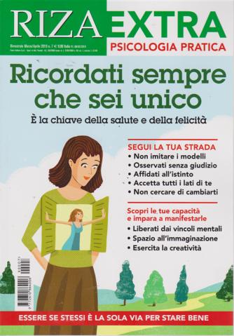 Riza Extra - n. 7 - bimestrale - marzo - aprile 2019 - Psicologia pratica