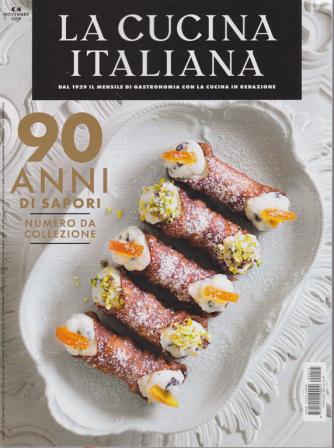 La cucina italiana - n. 11 - novembre 2019  -mensile