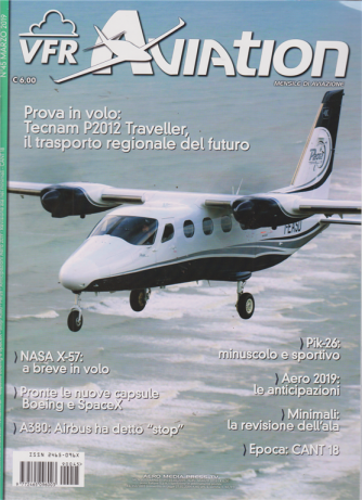 Vfr Aviation - n. 45 - marzo 2019 - mensile