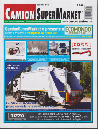 Camion Super Market - n. 11 - 30 ottobre 2019