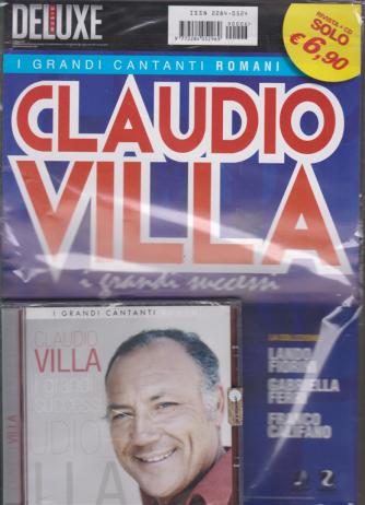 Saifam Music Deluxe - Cd Claudio Villa - I grandi successi - rivista + cd - I grandi cantanti romani